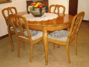Beautiful Vintage 60 S Solid Fruitwood French