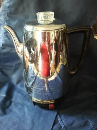 Beautiful Vintage Coffee Pot with Original Box. - $50