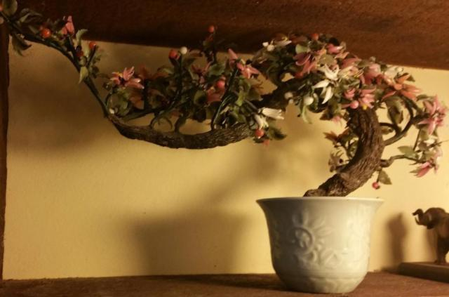 Beautiful Vintage Glass Bonsai Tree