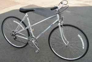 Peugeot Bike Frame Pearl Blue Paint