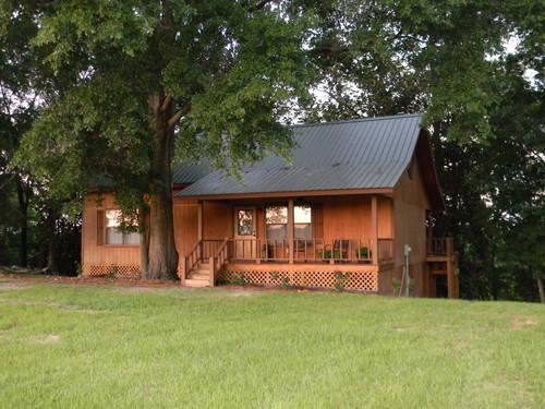 Beautiful Waterfront Log Cabin On Point A Lake For Sale In