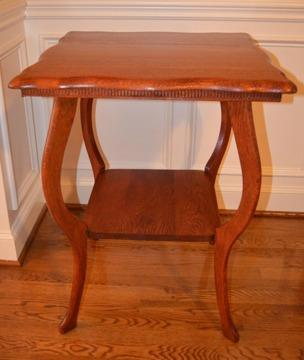 Beautifully Refurbished Vintage Table Solid Wood For Sale