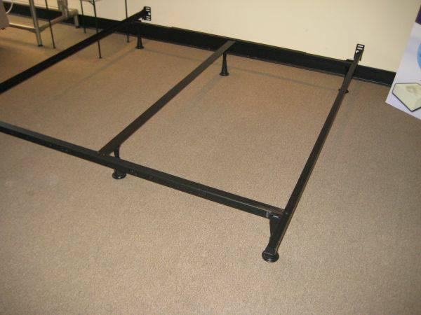 Bed frames metal king queen full twin starting for for American furniture bed frames