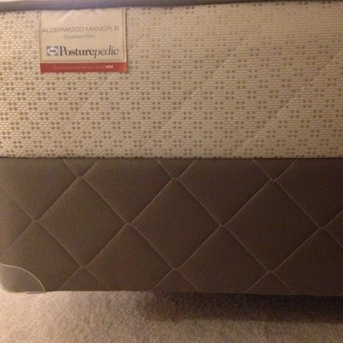 Bed Queen Size With Mattress Box Spring And Bed Frame For