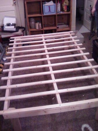Frames  Sale Miami on Bed Frame   Real Wood     50  Bellingham  For Sale In Bellingham