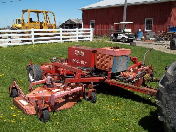Befco 12 foot finish mower - $2200 (New Castle)