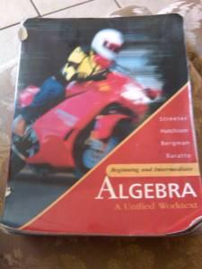 Beginning and Intermediate Algebra - $5 (Yuma,AZ)