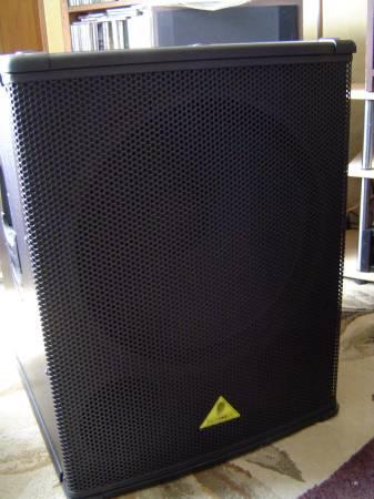 behringer b1800x pro 1 800 watt 18 pa subwoofer for sale in strasburg virginia classified. Black Bedroom Furniture Sets. Home Design Ideas