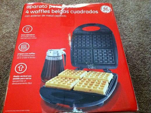 Belgium Waffle maker
