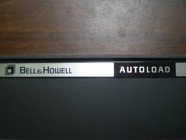 Bell  Howell AUTOLOAD 471A 8MM  SUPER 8MM Film Projector - Good Lamp - $49
