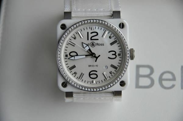 Bell  Ross BR03-92  Ceramic  Steel  Diamonds  Unisex - $3499