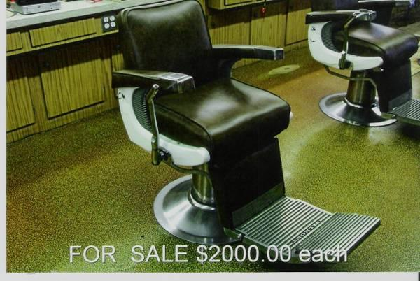 Foyer Chair Gumtree : Vintage barber chairs for sale used « heritage malta