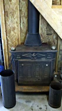 Ben Franklin Replica Wood Burning Stove For Sale In Parker