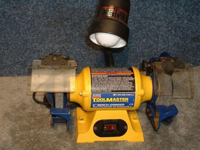 Bench Grinder 6 Inch Like New For Sale In Springville Pennsylvania Classified