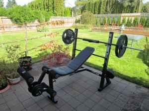Bench Press and 225 lbs of Weights - $175 Thurston