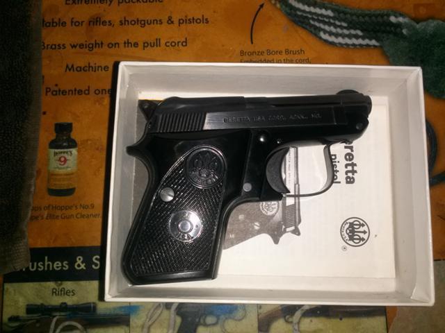 Beretta model 950  25 ACP