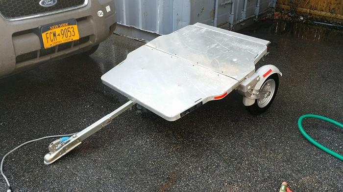 Besco Folding Trailer  Trailer