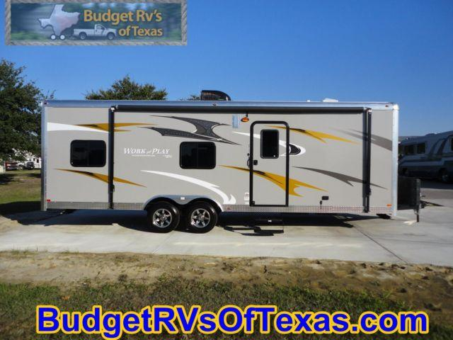 Work And Play Toy Hauler >> Best Of 2 Worlds! Cargo Trailer & Cool Toy Hauler! 2015 Work And Play for Sale in Royse City ...