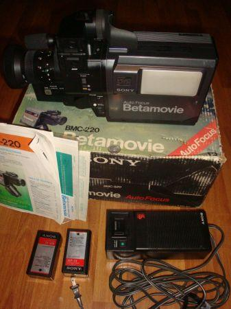 BETAMOVIE CAMERA (BMC-220) - (SALINAS) for Sale in ...