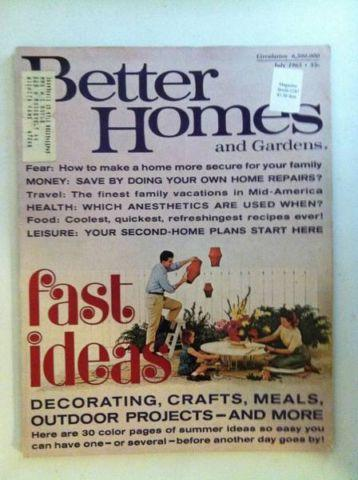 Better Home And Gardens Magazine July 1965 For Sale In Garland Texas Classified