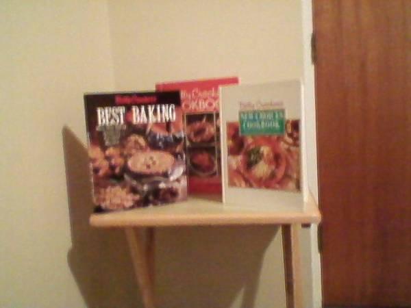Betty Crocker Cookbooks-Set of three - $25