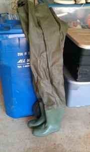 BF Goodrich Fishing Waders - $25 (East Hampton)