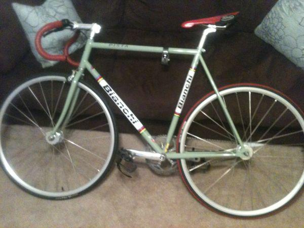 Buy Here Pay Here Gadsden Al >> Bianchi Pista Fixed Gear - (Northport) for Sale in ...