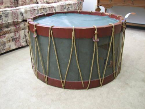 Bicentennial Drum Coffee Table For Sale In Fort Wayne