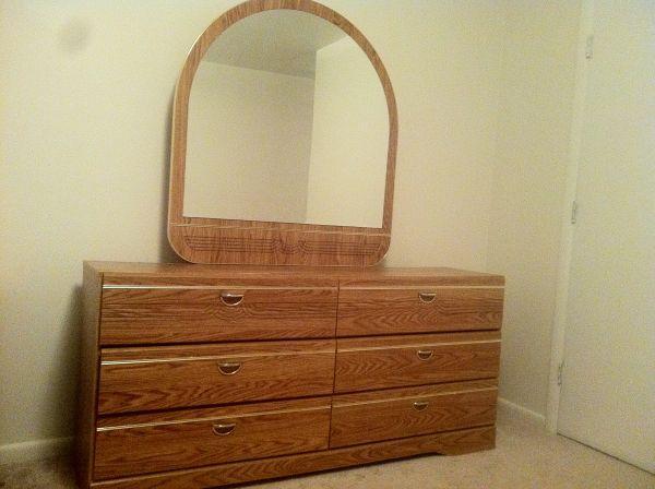 Big dresser with Mirror Unbelievable Price UHeights