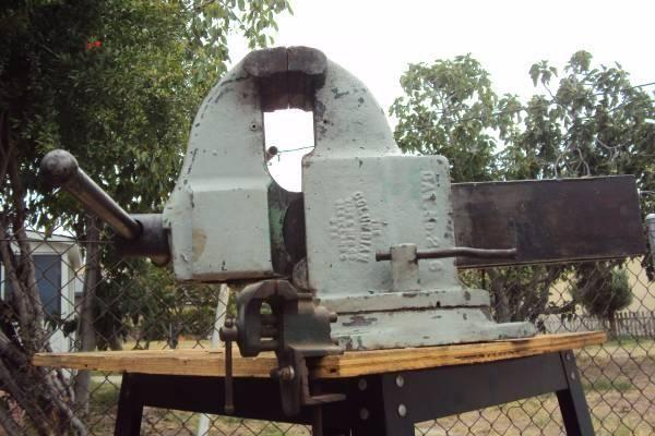 "Bandsaw Mill For Sale >> Big Heavy Duty 6"" Columbian Vise for Sale in Bell ..."