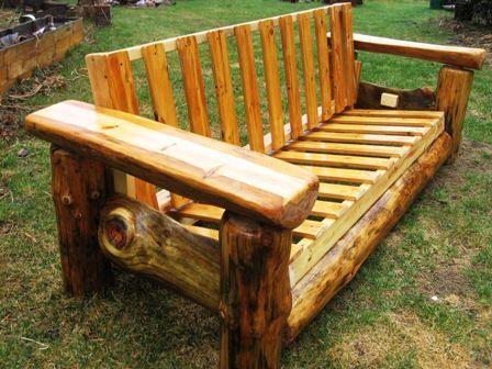 big log futon frames beautiful amazing original pine city for sale in marshall. Black Bedroom Furniture Sets. Home Design Ideas