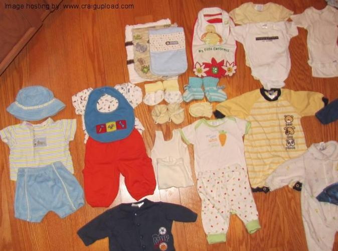 Big Lot of Adorable Baby Boy Clothes Size 0-3 Months - $55 Travelers Rest