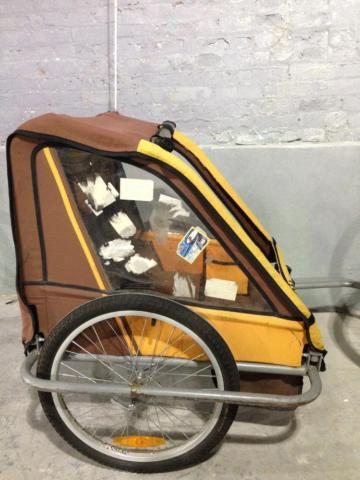 Bike Carriage for 2 children