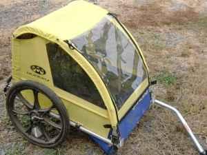 bike trailer burley - $150 yakima