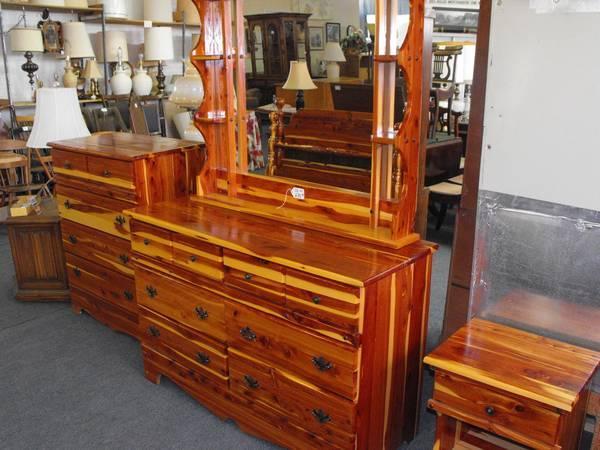 Bill S Other Yard Sale Cedar Bedroom Suite For Sale In
