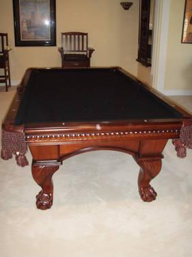 Billiard Table Beautiful American Heritage Set For Sale In Simpsonville South Carolina