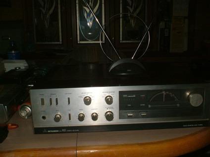 bindis electronics, mitsubishi da-r8 vintage stereo receiver