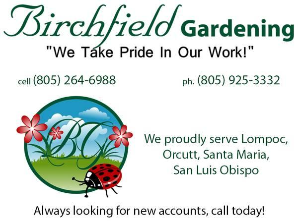 Birchfield Gardening - Lawn Maintenance, Clean ups,