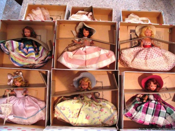 Bisque Nancy Ann Storybook Dolls