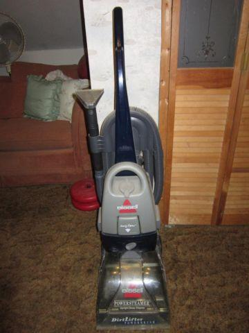 Bissell Power Steamer Upright Deep Cleaner Package For Sale In