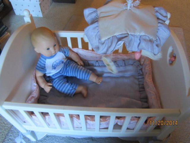 American Girl Bitty Baby Crib Bedding