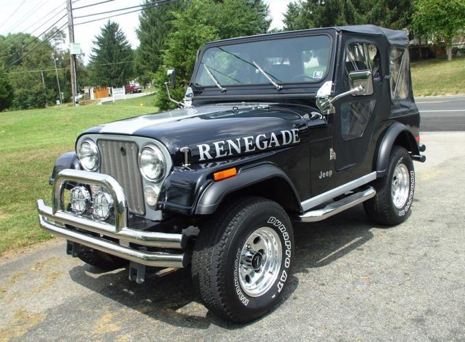 black 1982 jeep renedgade 304 v8 for sale in connellsville pennsylvania classified. Black Bedroom Furniture Sets. Home Design Ideas
