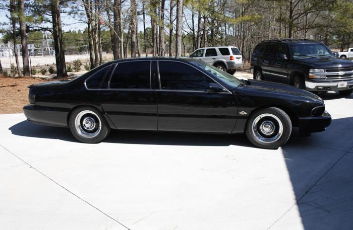 black 1996 chevy impala ss for sale in burnettown south. Black Bedroom Furniture Sets. Home Design Ideas