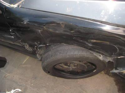 BLACK 1999 HONDA CIVIC COUPE PARTS OR REPAIR AUTOMATIC