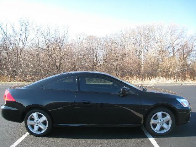 Black 2006 Honda Accord EXL V6 Coupe