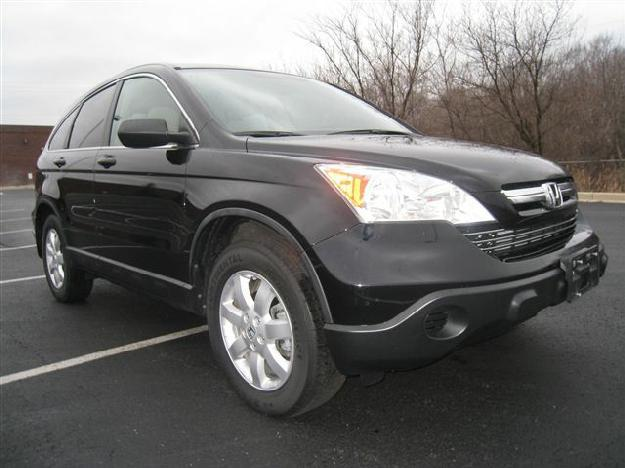 Black 2008 HONDA CR-V EX 4-Door Wagon / Sport Utility ...