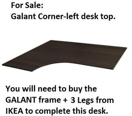 Ikea Galant Desk New And Used Furniture For In The Usa Classifieds Americanlisted