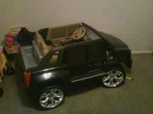 Black Cadillac Escalade Power Wheels - $350