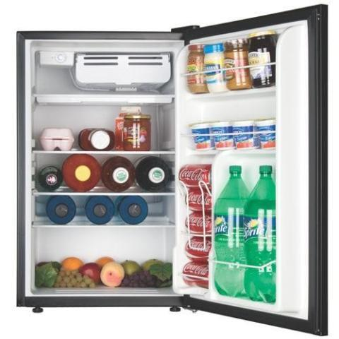 Black  Decker 4.52 cu.ft. Black Refrigerator