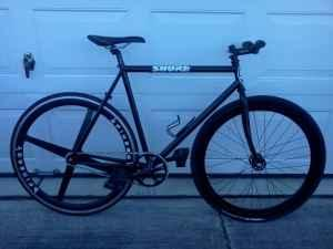 Black Fixie for sale $600 - $600 (Lancaster)
